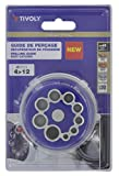 Tivoly 11110220004 Guía de perforación redonda, 0 W, 0 V, azul, talla única