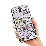 Lulumi Coque de téléphone pour Huawei Mate 10 Lite/Nova2i, souple et souple pour femme, motif...