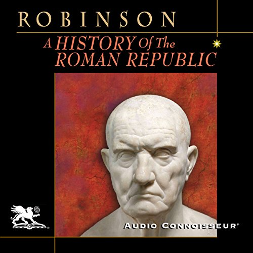 A History of the Roman Republic audiobook cover art