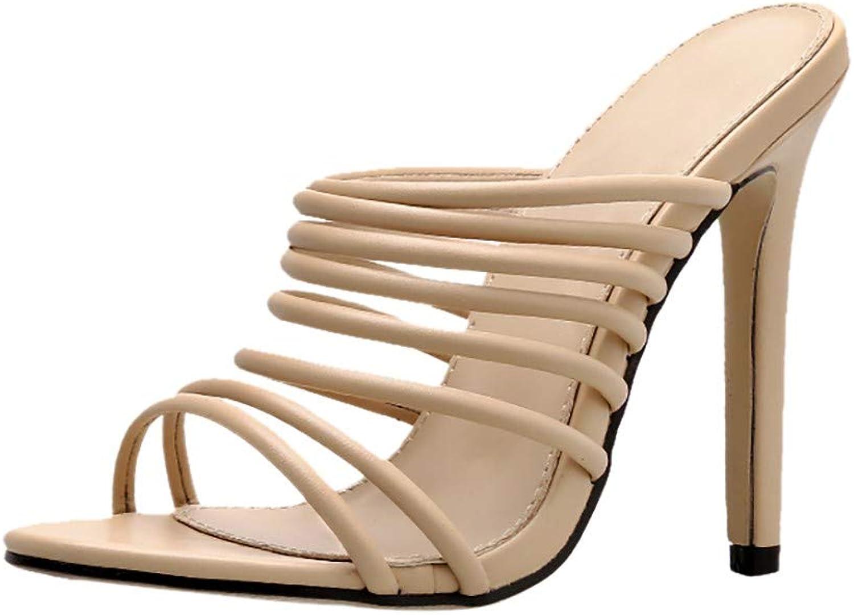 Aitena Summer Women Fashion Pointed Super high Heel Toe Sexy shoes