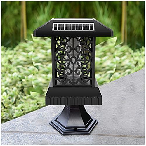 TYCI Inicio Retro Energía Solar Lámpara Antimosquitos Lámpara Insecticida al Aire Libre Mosquito Killer Mosquito Lámpara de Solar para Césped