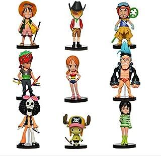 DADATU 9pcs / Set Anime One Piece Mini Figuras 2 años después PVC Figura de acción Juguetes