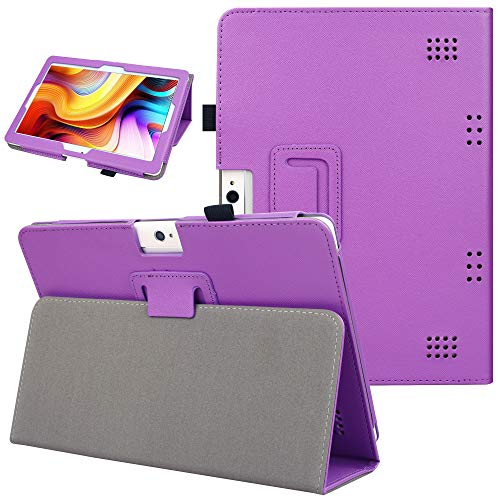 KuRoKo Notepad K10 / Max10 Tablet Case, Folio Cover with Stand Function Case Compatiable with Lectrus 10.1, Victbing 10, Hoozo 10, Winsing 10, ZONKO 10.1