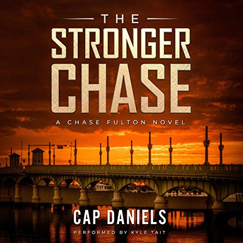The Stronger Chase audiobook cover art