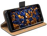 mumbi Tasche Bookstyle Hülle kompatibel mit Samsung Galaxy S8+ Hülle Handytasche Hülle Wallet, schwarz