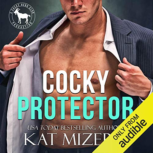 Cocky Protector audiobook cover art