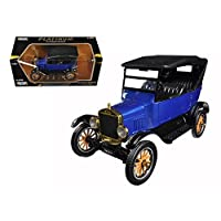 1925 Ford Model T Touring Blue 1/24 Diecast Model Car by Motormax