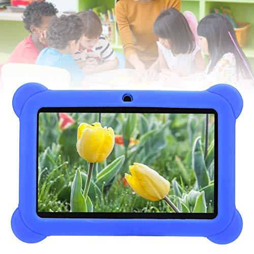 FASJ Tabletas para niños, App preinstalada para niños pequeños Tableta 7 en 1 + 8G Almacenamiento Educativo para Viajar Escuela para Acampar para niños para niños(Transl)
