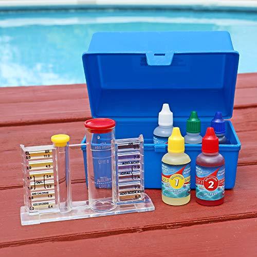 Limited Edition JED Pool Tools Standard Dual Test Kit