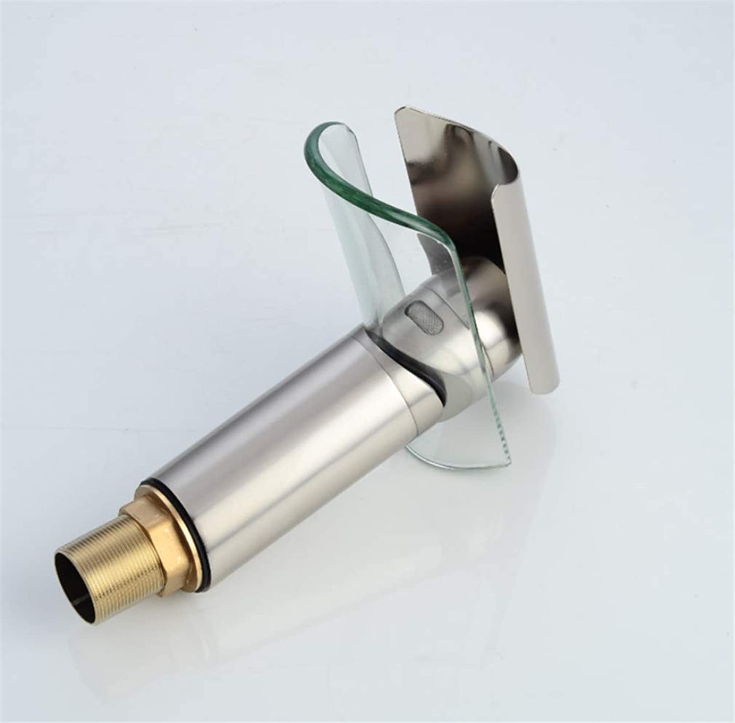 Pull Out The Pull Down Stainless Steelglass Waterfall Faucet Basin Head Faucet Faucet