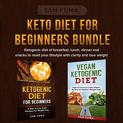 Keto Diet for Beginners Box Set cover art