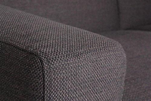 Machalke Sofa Marcello 4er Sofa | Mit Stoffbezug in Panama braun