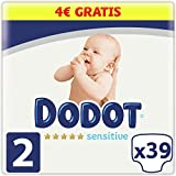 Dodot Sensitive Talla 2 39 uds