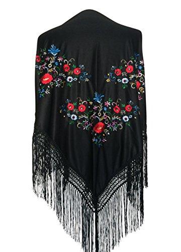 La Señorita Mantones bordados Flamenco Manton de...