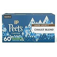 60-Count Peet's Coffee Chalet Blend Dark Roast Single Serve KCup