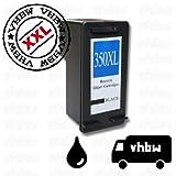 vhbw Cartouche d'encre Compatible Noir pour HP Photosmart C4200, C4225, C4235, C4240, C4250, C4270, C4273, C4280, C4283