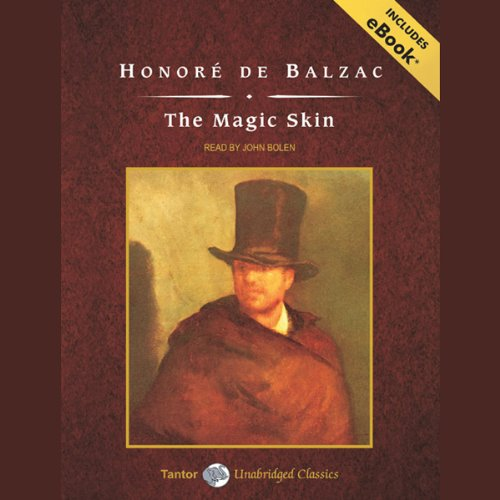 The Magic Skin audiobook cover art