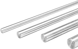 EsportsMJJ 6/8/10/12Mm Diamètre Tige Longueur 400Mm Acier Cylindre Rail Linéaire Axe Linéaire Axes Optiques - 8Mm
