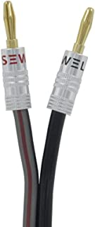 Silverback Speaker Wire by Sewell with Silverback Banana Plugs, 15 ft.