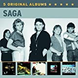 5 Original Albums von Saga