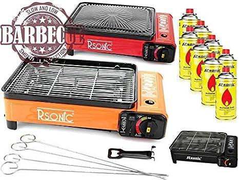 XXL Cocina Camping Cocina Gas Portable Cocina de Gas RS-4030 ...