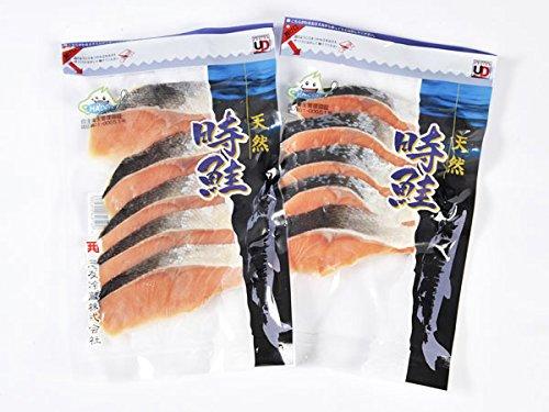北海道産 時鮭切り身 10枚 (約600g)【出荷元:北海道四季工房】