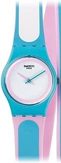 Swatch Women's LL117 Tropical Beauty Year-Round Analog Quartz Blue Watch