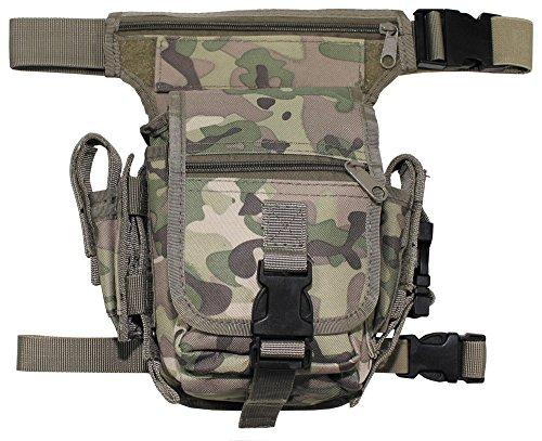 MFH Hip Bag Hüfttasche Outdoor Tasche Softair Beintasche Paintball Gürteltasche viele Farben (Operation Camo)