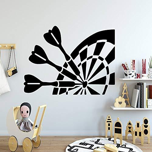 zhuziji Kinder Herz Wandaufkleber , Bunte Ziel Baby Zimmer Home Party Wand Naklejki NA Snordic Schlafzimmer, Campus, Kindergarten Mit Vinyl Pvc64x84cm