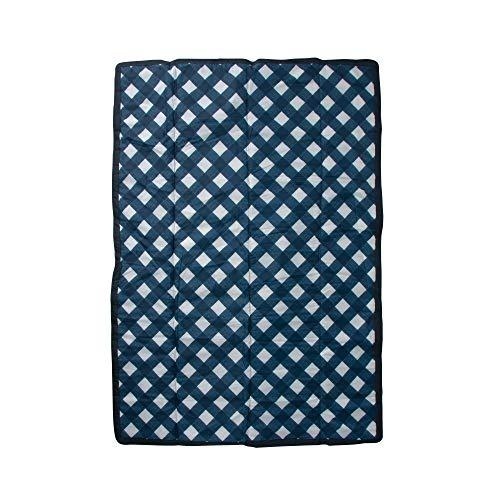 Little Unicorn | Outdoor Blanket 5 x 7 - Outdoor Decke 152 x 213 cm (Navy Plaid)