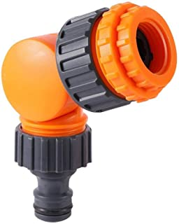 """Garden Quick Connector 180° Rotatable Water Tap Splitter Agriculture Irrigation Quick Water Connector 1/2"""" 3/4"""" Pipe Inter..."""