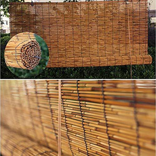 Bambusjalousien - Rollos, Sonnenschutzvorhänge im Vintage-Stil, 18 Größen