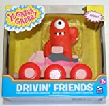 Yo Gabba Gabba Drivin Friends Push Around Vehicle and Character Muno