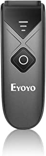 Eyoyo Mini Portable 1D Bluetooth Barcode Scanner, 3-in-1 2.4G Wireless Bluetooth Wireless USB wired Barcode Reader Work wi...