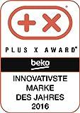 Beko BIM22301X Backofen Elektro / A / 71 L / Silber / Heißluft mit Ringheizkörper / Herausnehmbare Seitengitter / SimpleSteam Reinigungsfunktion / 3D-Kochen / Versenkbare Knebeln/ Vollglasinnentür / Pflegeleichte Emaillierung - 7