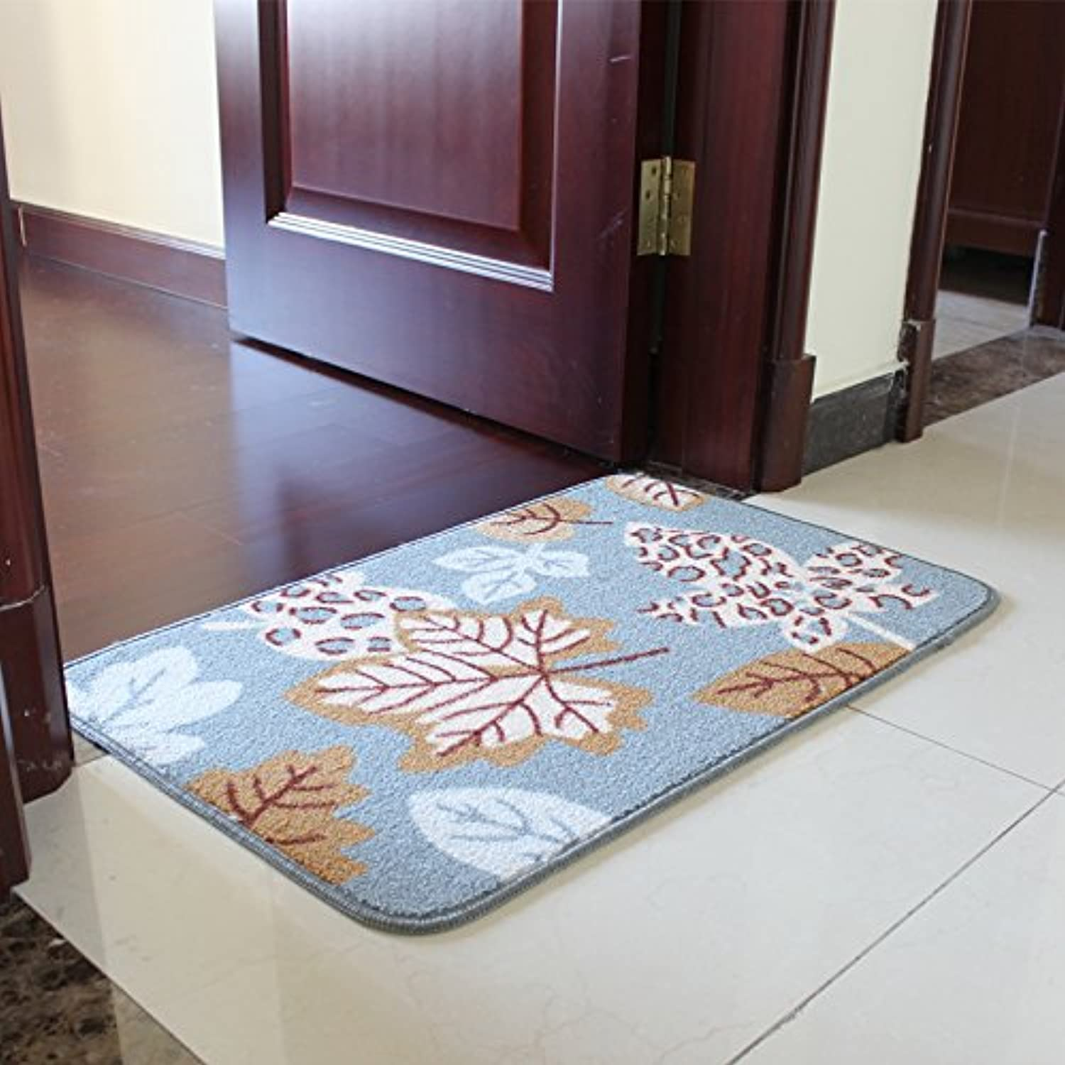 JinYiDian'Shop-Thick Mats Feet Bedroom Pvc Anti-Slip Pad Kitchen Door Mat ,5080Cm,A