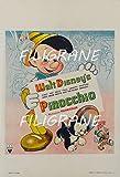 PostersAndCo TM Pinocchio Poster/Reproduktion, 90 x 135 cm,