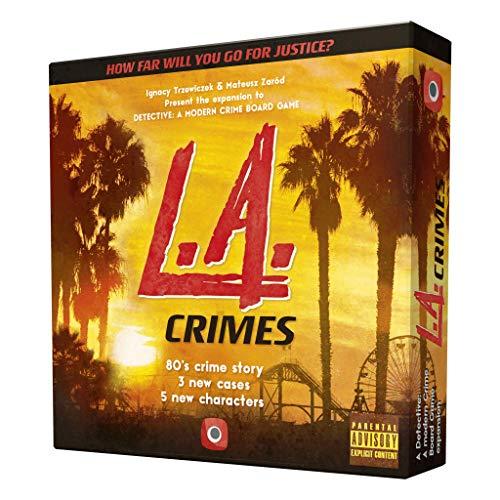 Portal Games POG1924 Detective: L.A. vídeo juego Crimes Expansion, colores mixtos , color/modelo surtido