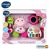 VTech - Canastilla de juguetes, estuche de regalo para bebé recién nacido que incluye peluche...