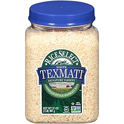 RiceSelect Texmati White Rice, 32-Ounce Jars