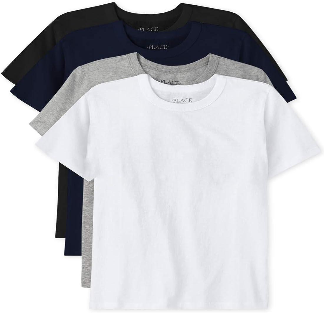 The Children's Place Boys' Short Sleeve Basic Layering T-Shirt