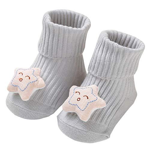 Richo Baby Slippers Sokken - Peuter Kids Anti-slip Laarzen Sokken - Baby Boy Girl Verdikte Floor Sokken - Winter Warme schoenen Sokken Zacht Katoen Sokken