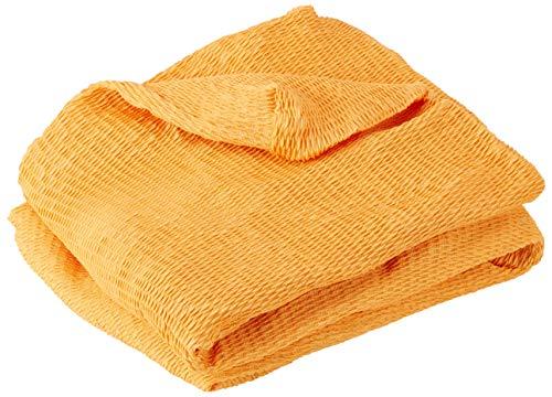 Martina Home Tunez, Copridivano elastico, Tela (50% poliestere, 45% cotone, 5% elastan), Oro, 3 Posti (180-240 cm larghezza)