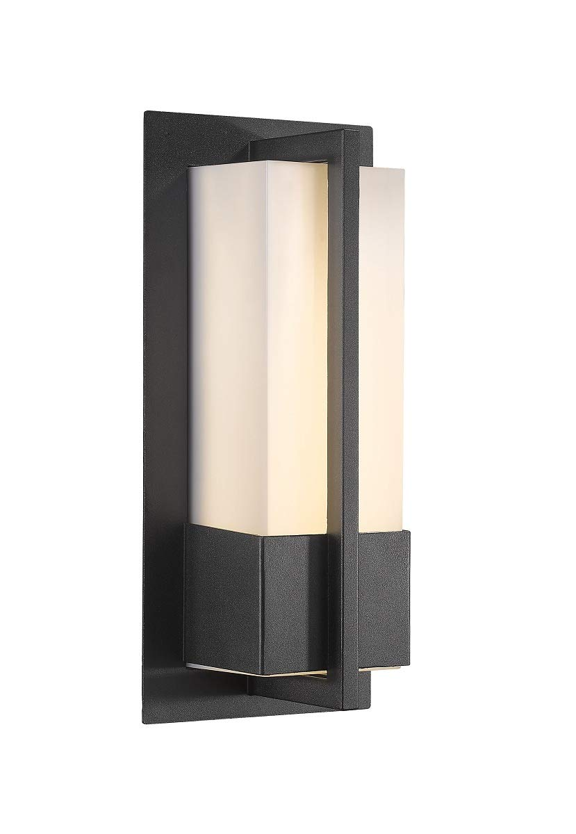 Bestshared Exterior Led Wall Light Indoor Wall Mount Lighting Modern Outdoor Wall Lamp Fixture 12w Led 900 Lumens 3000k Warm White Buy Online In Cayman Islands At Cayman Desertcart Com Productid 158194751
