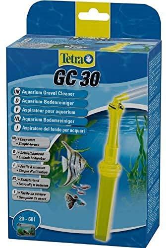 Tetra GC30 Aquarien-Bodenreiniger (mit Schlauch, Schnellstartventil und Fischschutzgitter, Mulmsauger mit Saugrohrkonstruktion, geeignet für Aquarien von 20 – 60 Liter)