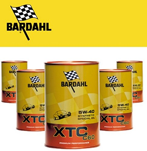 Bar Dahl XTC 5W40, C60, aceite 100% 25Plástico Auto Gasolina y Diesel 5Lit