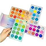 Beauty Searcher 60 colores Paleta de sombras de ojos 4 en 1 Paleta de colores Paleta de maquillaje...