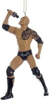 Kurt Adler 5-Inch Resin WWE The The Rock Ornament