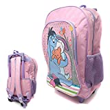 Winnie The Pooh's Eeyore Children's Character Luggage Deluxe Wheeled Trolley Backpack Suitcase Cabin Bag School