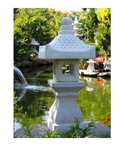 Yukimi japanische Steinlaterne Garten Laterne KO